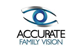 ACCURATE FAMILY VISION Logo