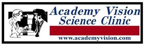 ACADEMY VISION SCIENCE CLINIC Logo