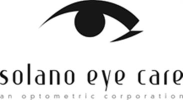 SOLANO EYE CARE, an Optometric Corp. Logo
