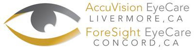 ACCUVISION EYECARE OPTOMETRY Logo